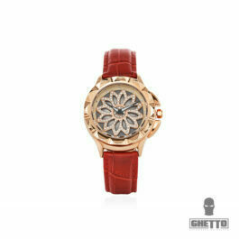 Ghetto Ladies Watch Colorfull Iced