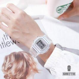 Ghetto Digital Sport Watch Unisex Fashion 2021