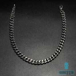 Ghetto Cuban Link Chain Necklace Bracelet