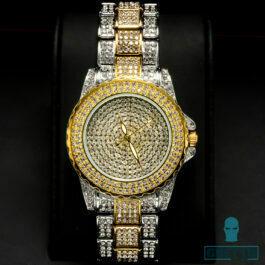 Ghetto Ladies Diamond Dial Watch Women Simple Style