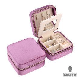 Ghetto Luxury Velvet Jewellery Case Storage Travel