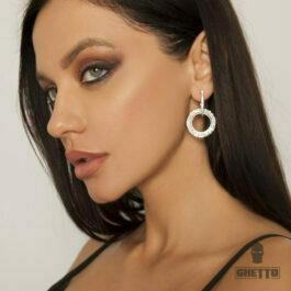 Ghetto 2021 Diamond Earrings for Women