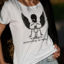 Ghetto T-Shirt Limited Edition GHETTO ANGEL for Women's